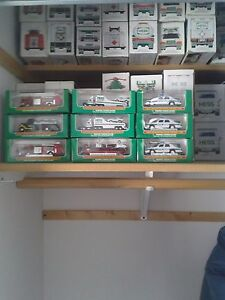Details about HESS MINI TRUCKS ONLY4 SALE PRISTINE CONDITION STORED AT ROOM  TEMP  MUST SELL