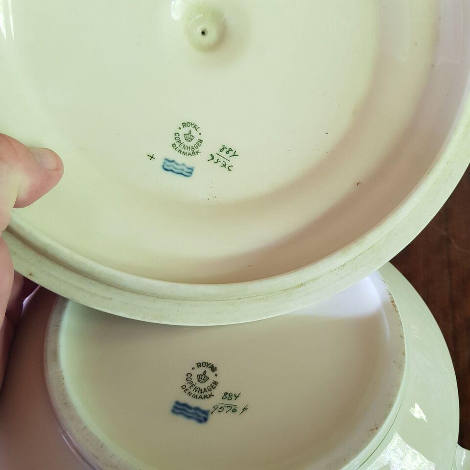 Porcelæn, Service, Hejrtegræs 1. Sort