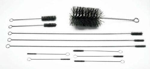 Moroso Engine Motor Block Cleaning Kit Nylon Bristle Brushes Oil Galley 61820
