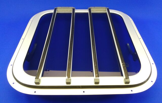 Houdini Super 500 Deck Hatch Yacht Motorhome Skylight Boat  Free Sealer US12