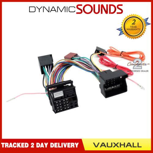 Connects 2 CT10VX04 Parrot Sot T-Harnais Adaptateur ISO Câblage plomb pour VAUXHALL