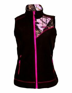 87614856e33ea Rocky Western Vest Women's Size S Realtree Full Zip Fleece Brown ...