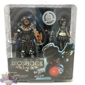 BioShock-2-034-Big-Sister-amp-Little-Sister-034-Toys-R-Us-Exclusive-Figures-UNOPENED-BOX