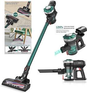 Dibea 12Kpa Cordless Vacuum Cleaner 4 in 1 Handheld Stick Vacuum Cleaner Ref US