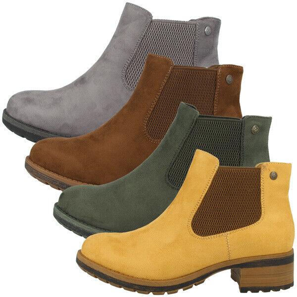 Stiefeletten Ankle Boots Women Damen Microscamo Antistress Rieker 96884 Schuhe JKclF1