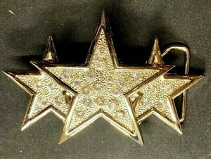 BEAUTIFUL BIKERS BELT BUCKLE WITH HOOD STAR NEW GREAT GIFT