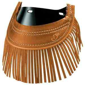 indian motorcycle tan front fringed mud flap for 2014 2016