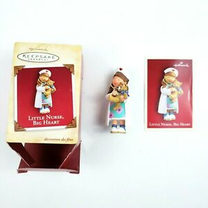 Little-Nurse-Big-Heart-Hallmark-Keepsake-Christmas-Tree-Ornament-2004