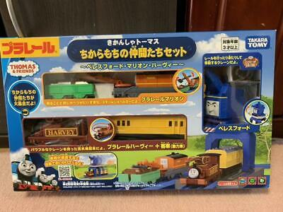 Takara Tomy Pla-rail Plarail Thomas /& Friends Powerful Friends Beresford Toy Set