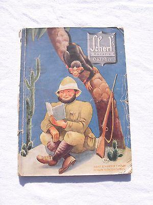 Altes Magazin Scherls Magazin 1.jahrgang Heft 12 Oktober 1925 Mit Werbung 2019 Offiziell