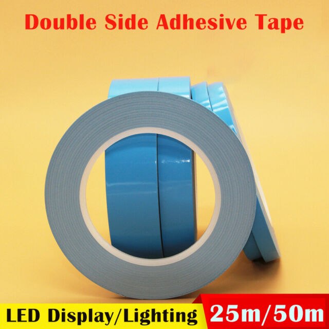 25/50m Double Side Thermal Conductive Adhesive Tape For Chip Heatsink LED Strip