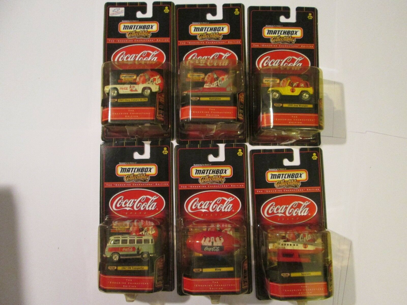 Matchbox Coca-Cola The Enduring Character Edition Set of 6
