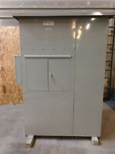 Cutler Hammer Prl 600 Amp Panel Panelboard 480v 277v 208v Ct Cabinet Nema 3r