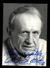 Alexander Kerst Rüdel Autogrammkarte Original Signiert # BC 98718