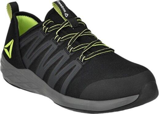 hombres Reebok Zapato De Trabajo Con Puntera De Acero De 7 a 15 Slip Res. Memoria Foam Comodidad