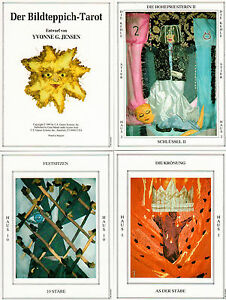 Bildteppich-Tarot-noch-eingeschweisst-OVP-rar-selten-Sammler-Raritaet