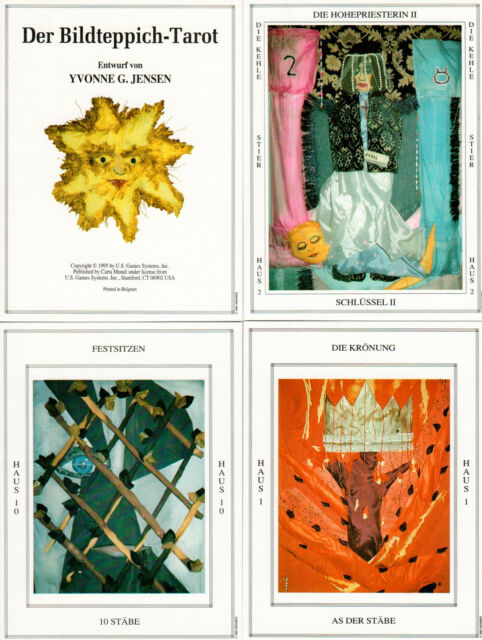 Bildteppich-Tarot - noch eingeschweißt OVP - rar - selten - Sammler - Rarität