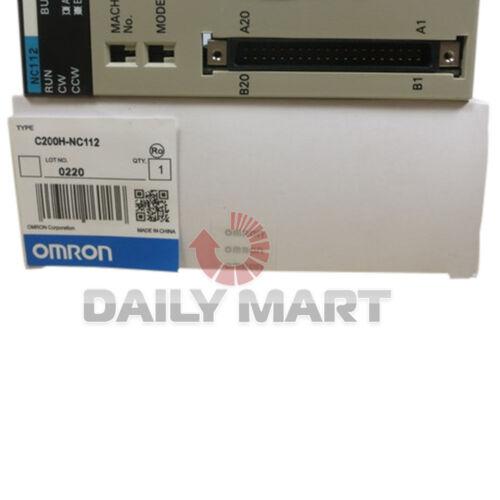 Position unité de contrôle NEUF OMRON C200H-NC112 Motion 1-Axis