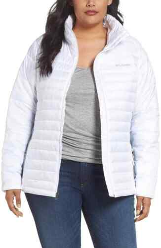 Columbia Size da Plus Coulisse 2x donna imbottita bianca Giacca xPEq04gw0