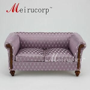 Fine 1:12 scale dollhouse miniature furniture Elegant living room sofa