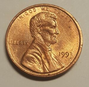 1993 UNITED STATES OF AMERICA LINCOLN PENNY weak grease ...