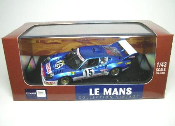 Ligier JS2 JS2 JS2 (Maserati) No. 15 LeMans 1974 183a62