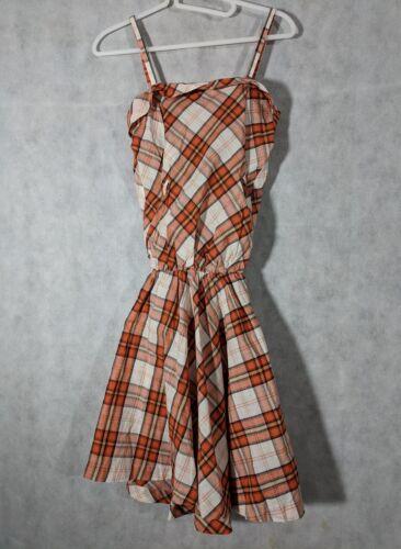 Bernhard Willhelm SS07 Plaid Midwest Cowgirl Dress