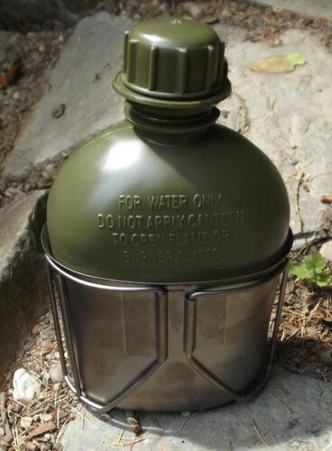 Trinkset molle potable bouteilles-sac woodland 1 L gourde avec gobelet u