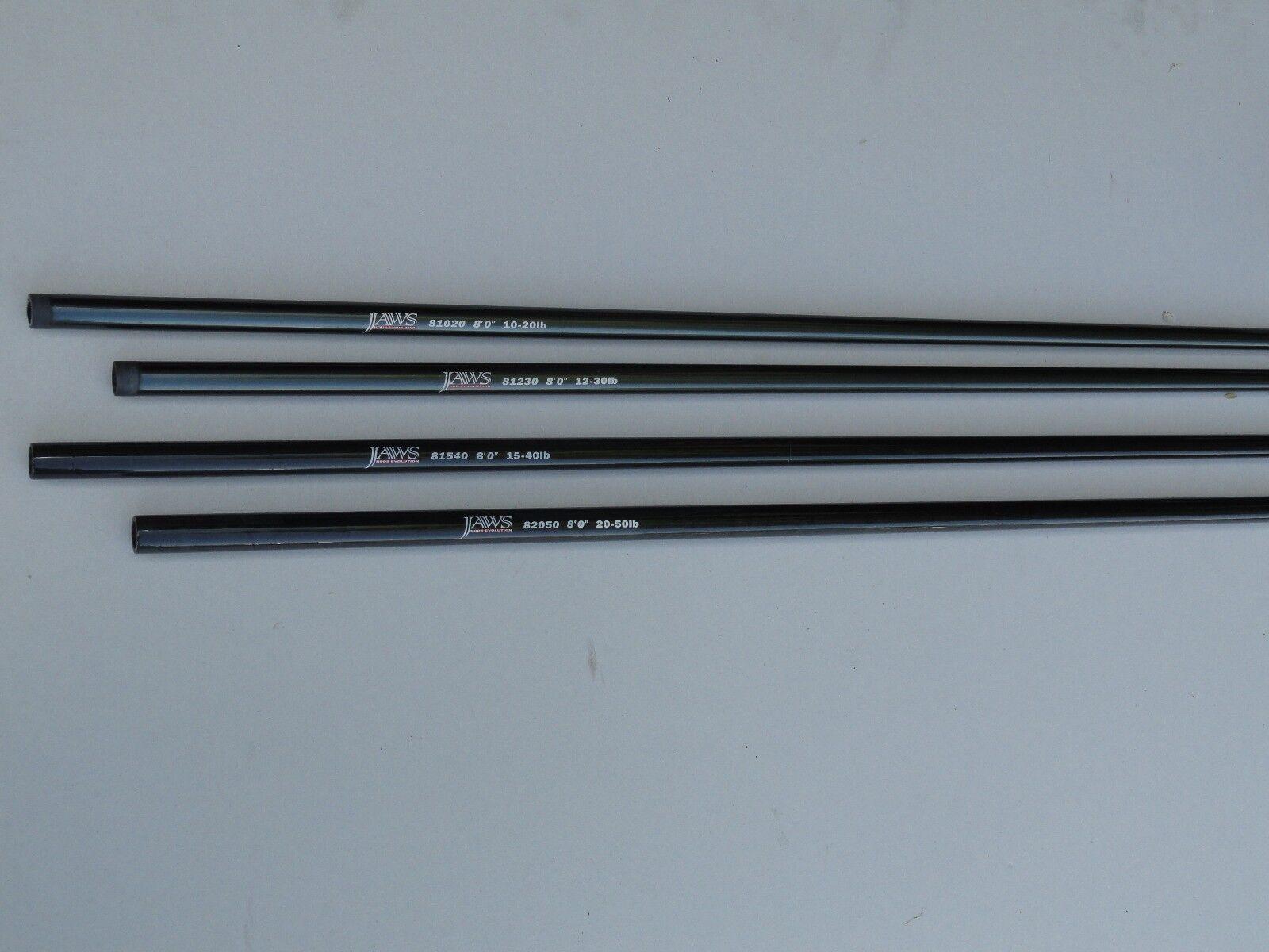 Two x Jaws Saltwater Nano Rod Blank 8' Line Rating  12lb - 30lb - 81230 Nano