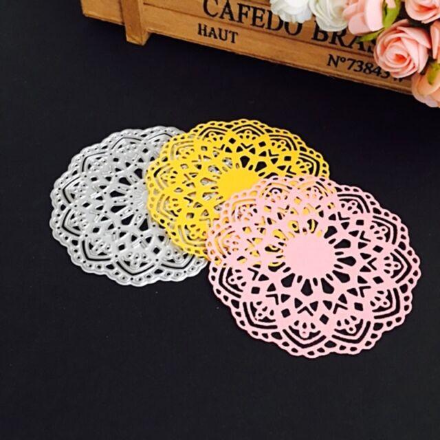 Flower Metal Cutting Dies Stencil Scrapbooking Card Paper Embossing Craft DIY