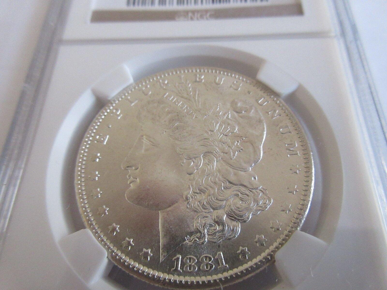 1881-S Morgan Silver Dollar , MS 66 , NGC Certified
