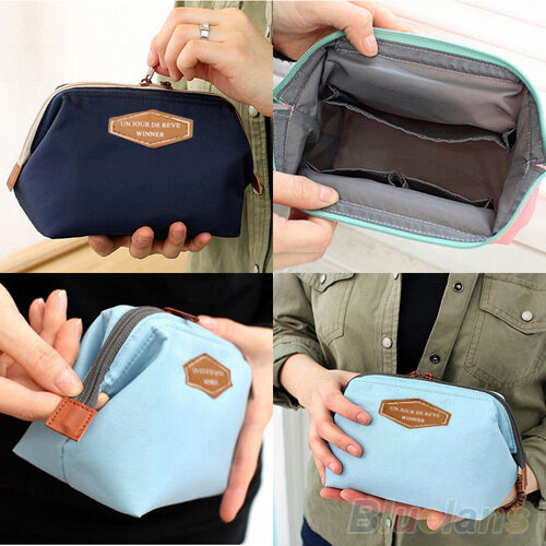 Portable Cute Multifunction Travel Cosmetic Bag Makeup Toiletry Case Pouch