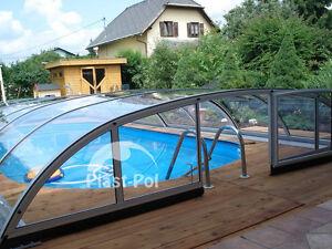 Das Bild Wird Geladen Gfk Schwimmbecken Uberdachung  10 Poolhalle Pool Abdeckung 10