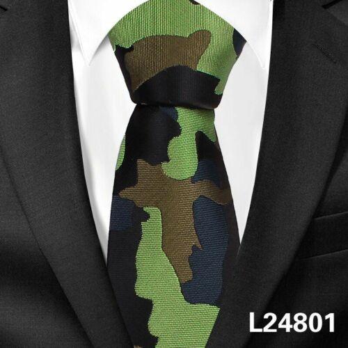 Camouflage Cou Liens Fashion GEOMETRIQUES pour hommes casual pour fête classique