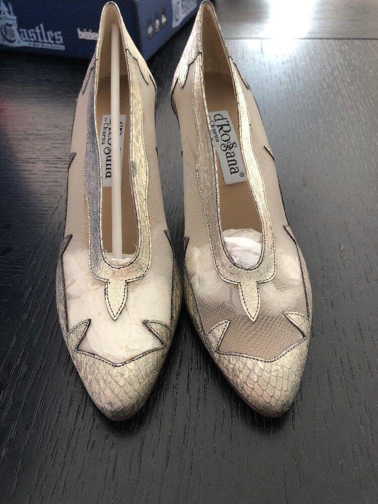 D'rossana By Charna Dress Schuhes Heels Heels Heels Pumps 6.5 46fa6b