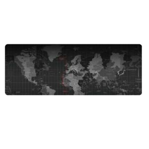 90x40cm black pc mouse mat world map extended gaming wide large pad image is loading 90x40cm black pc mouse mat world map extended gumiabroncs Image collections