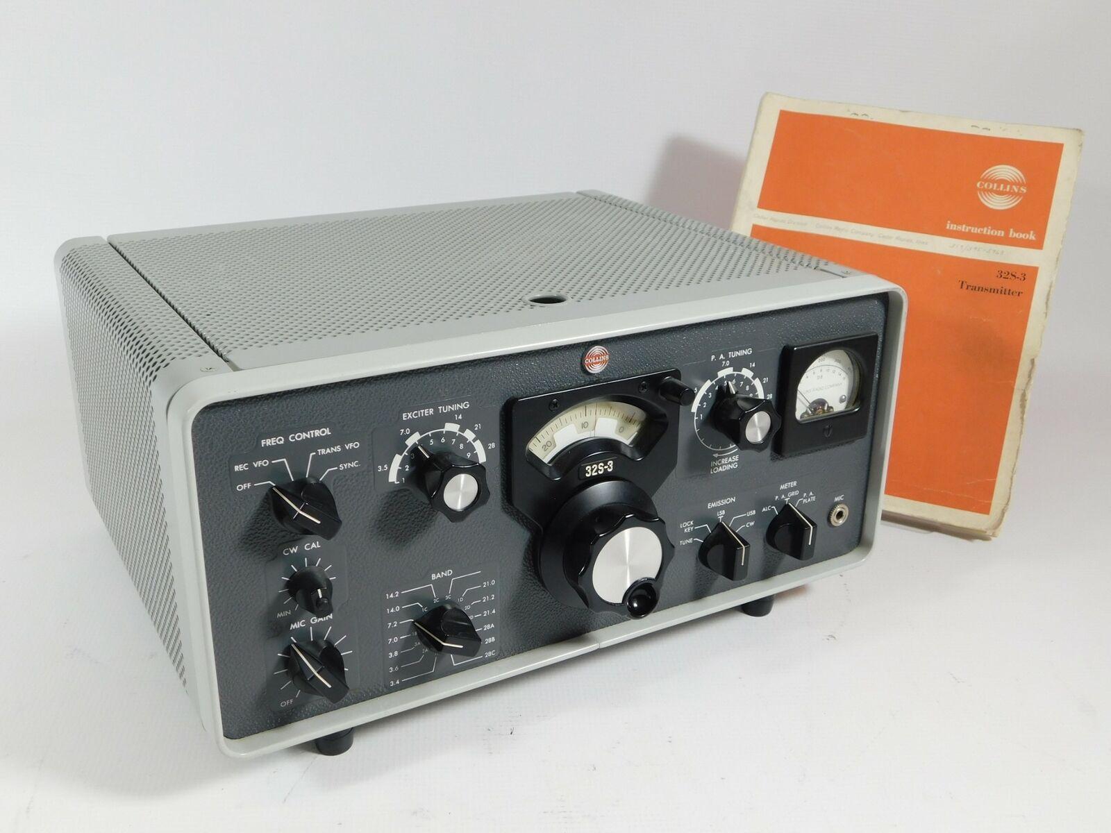 Collins 32s 3 Radio Transmitter For Sale Online Ebay