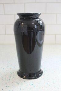 Fiestaware Black Monarch Vase NEW!