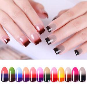 Temperature-Mood-Color-Change-Nail-Gel-Polish-Soak-off-UV-DIY-Art-Manicure
