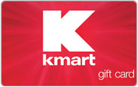 $100 Kmart Gift Card