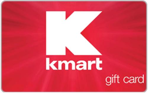 EBAY:eBay:$100 Kmart 电子购物卡,现仅售$90.00!电邮送达。可在Kmart和Sears实体店或网店使用!