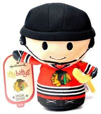 Hallmark  Itty Bittys Bitty NHL Chicago Blackhawks Special Edition Plush Figure!
