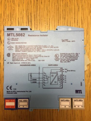 Resistance Isolator MTL 5082
