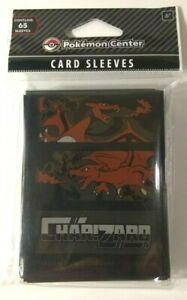 Charizard-Fury-Card-Sleeves-65-Official-Pokemon-Center-TCG-Nintendo-Sealed