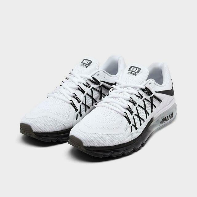 Size 9 - Nike Air Max 2015 White Black