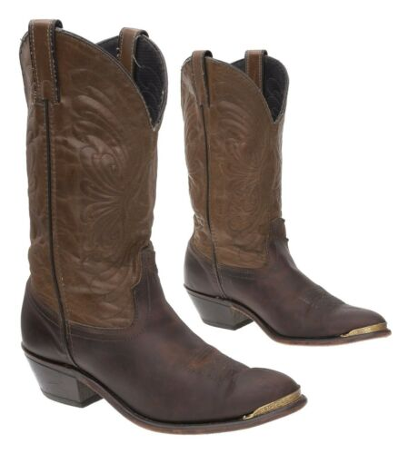 LAREDO Cowboy Boot 7.5 M Womens Brown Leather West