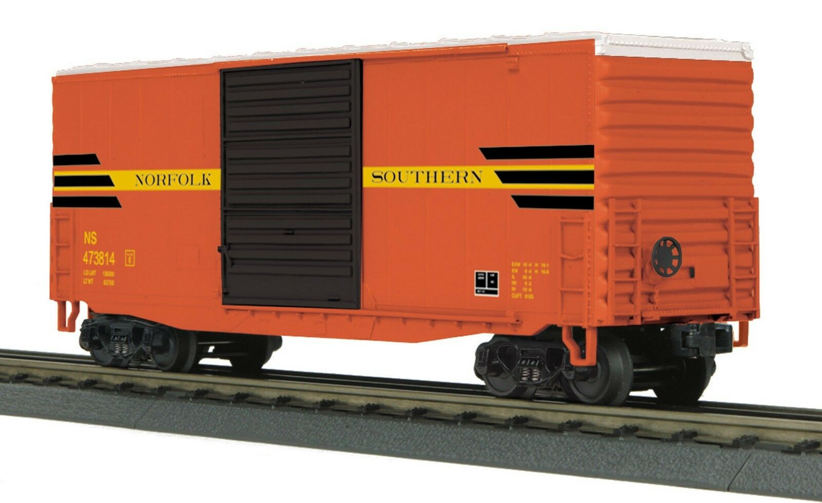 30-74754 Norfolk Southern (NS Heritage) 40' High Cube Box Car MTH
