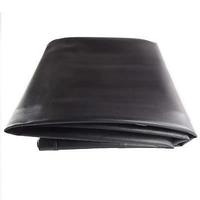 Black 8/' Heavy Duty Leatherette Pool Table Cover 8 Foot Billiard Table Cover