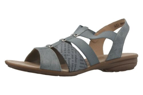 Large Remonte Size Sandals Blue Chaussures Femmes In Xxl q6zaxgZE