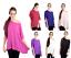New Women Ladies Plain Chiffon Kimono Off Shoulder Summer Holidays Top Size 8-26